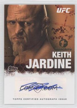 2010 Topps UFC Series 4 Autographs #FA-KJ - Keith Jardine