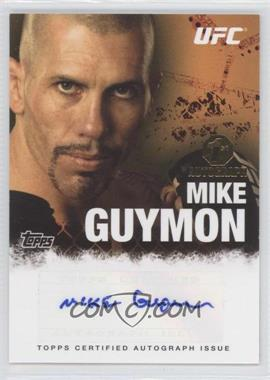 2010 Topps UFC Series 4 Autographs #FA-MG - Mike Guymon