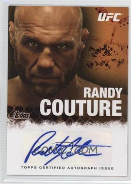 """2010 Topps UFC Series 4 Autographs #FA-RC - Randy """"The Natural"""" Couture (Randy Couture)"""