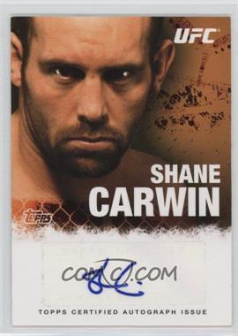 2010 Topps UFC Series 4 Autographs #FA-SC - Shane Carwin