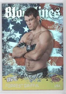 2010 Topps UFC Series 4 Bloodlines #BL-9 - Forrest Griffin