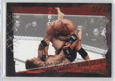 "2010 Topps UFC Series 4 Bronze #50 - Mark ""The Hammer"" Coleman (Mark Coleman) /88"