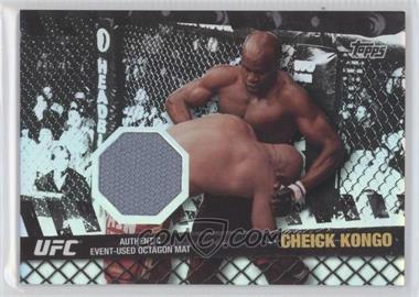 2010 Topps UFC Series 4 Fight Mat Relics Silver #FM-CK - Cheick Kongo /88