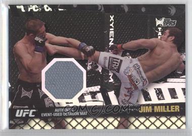 2010 Topps UFC Series 4 Fight Mat Relics Silver #FM-JM - Jim Miller /88
