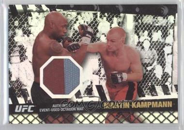 2010 Topps UFC Series 4 Fight Mat Relics Silver #FM-MK - Martin Kampmann /88