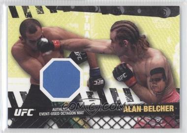 2010 Topps UFC Series 4 Fight Mat Relics #FM-AB - Alan Belcher