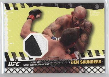 2010 Topps UFC Series 4 Fight Mat Relics #FM-BS - Ben Saunders