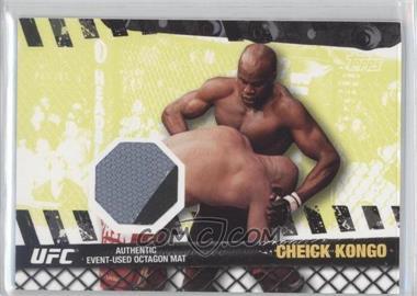 2010 Topps UFC Series 4 Fight Mat Relics #FM-CK - Cheick Kongo