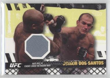 2010 Topps UFC Series 4 Fight Mat Relics #FM-JDS - Junior Dos Santos