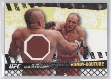"2010 Topps UFC Series 4 Fight Mat Relics #FM-RC - Randy ""The Natural"" Couture (Randy Couture)"