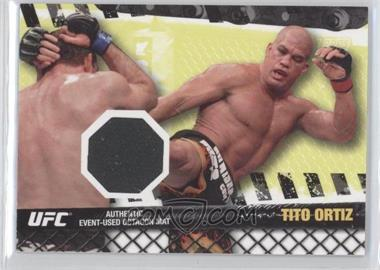 2010 Topps UFC Series 4 Fight Mat Relics #FM-TO - Tito Ortiz