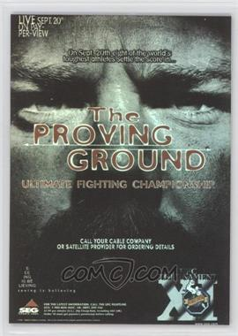 2010 Topps UFC Series 4 Fight Poster Review #FPR-UFC11 - UFC11