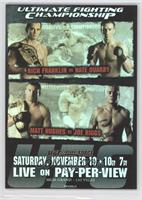 UFC56 (Rich Franklin, Nate Quarry)