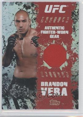 2010 Topps UFC Series 4 Fighter Gear Relics #FR-BV - Brandon Vera