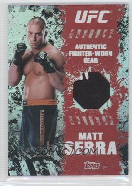 2010 Topps UFC Series 4 Fighter Gear Relics #FR-MS - Matt Serra