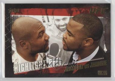 "2010 Topps UFC Series 4 Gold #192 - Highlight Reel - Quinton Jackson vs Keith Jardine (""Suga"" Rashad Evan Pictured with Jackson)"