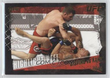 2010 Topps UFC Series 4 Gold #195 - Highlight Reel - Michael Bisping vs Denis Kang