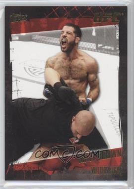 2010 Topps UFC Series 4 Gold #27 - Matt Brown