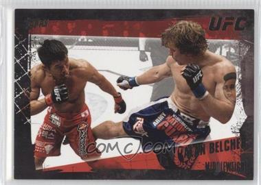 2010 Topps UFC Series 4 Onyx #37 - Alan Belcher /188