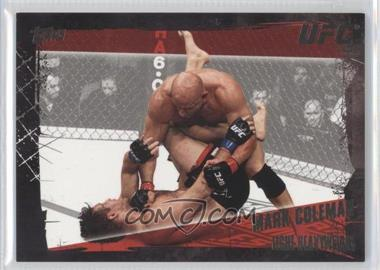 "2010 Topps UFC Series 4 Onyx #50 - Mark ""The Hammer"" Coleman (Mark Coleman) /188"