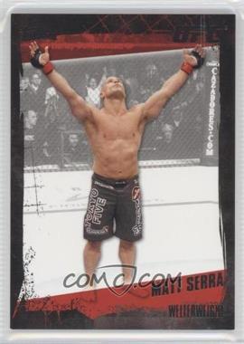 2010 Topps UFC Series 4 Onyx #86 - Matt Serra /188