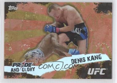 2010 Topps UFC Series 4 Pride and Glory #PG-10 - Denis Kang