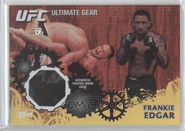 2010 Topps UFC Series 4 Ultimate Gear Relic Gold #UG-FE - Frankie Edgar /188
