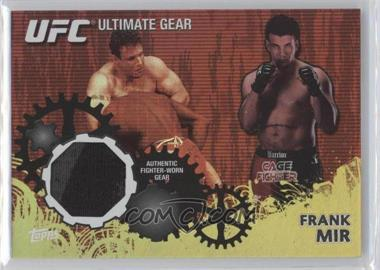 2010 Topps UFC Series 4 Ultimate Gear Relic Gold #UG-FM - Frank Mir /188