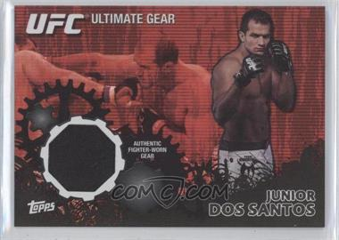 2010 Topps UFC Series 4 Ultimate Gear Relic Onyx #UG-5 - Junior Dos Santos /88