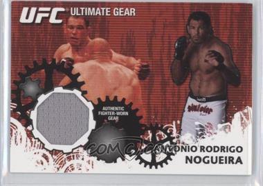"2010 Topps UFC Series 4 Ultimate Gear Relic #UG-AN - Antonio Rodrigo ""Minotauro"" Nogueira"