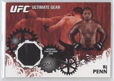 2010 Topps UFC Series 4 Ultimate Gear Relic #UG-BP - B.J. Penn (BJ Penn)