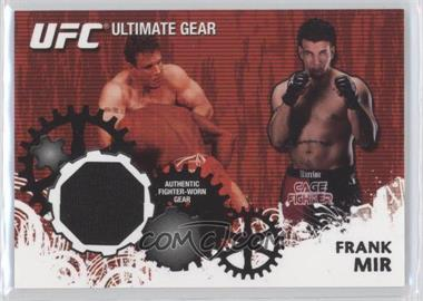 2010 Topps UFC Series 4 Ultimate Gear Relic #UG-FM - Frank Mir