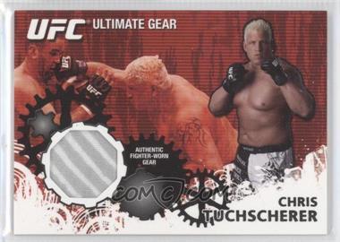 2010 Topps UFC Series 4 Ultimate Gear Relic #UG-GG - Gabriel Gonzaga