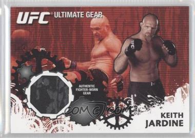 2010 Topps UFC Series 4 Ultimate Gear Relic #UG-KJ - Keith Jardine