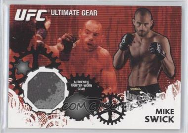 2010 Topps UFC Series 4 Ultimate Gear Relic #UG-MS - Mike Swick