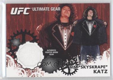 2010 Topps UFC Series 4 Ultimate Gear Relic #UG-TK - Tim Katz