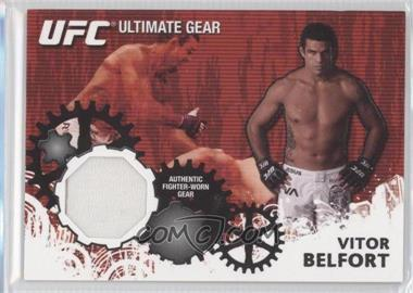 2010 Topps UFC Series 4 Ultimate Gear Relic #UG-VB - Vitor Belfort