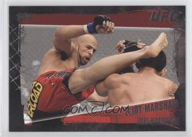 2010 Topps UFC Series 4 #18 - Eliot Marshall