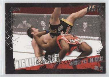 2010 Topps UFC Series 4 #191 - Highlight Reel - Jon Jones vs Stephan Bonnar