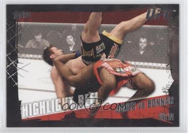 2010 Topps UFC Series 4 #191 - Highlight Reel - Jon Jones vs Stephan Bonnar