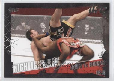 2010 Topps UFC Series 4 #191 - Jon Jones vs Stephan Bonnar