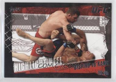 2010 Topps UFC Series 4 #195 - Highlight Reel - Michael Bisping vs Denis Kang