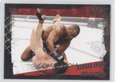 2010 Topps UFC Series 4 #61 - Rashad Evans
