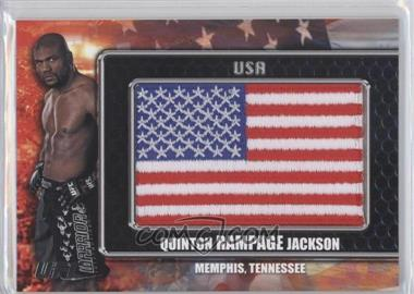 "2010 Topps UFC Title Shot [???] #CP-QJ - Quinton ""Rampage"" Jackson"