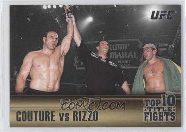 2010 Topps UFC Title Shot [???] #TT-9 - [Missing]