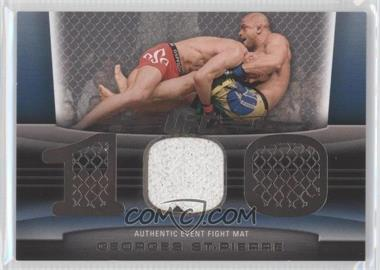 2010 Topps UFC Title Shot Fight Mat Relic Silver #FM-GSP - Georges St-Pierre /88