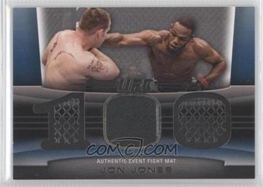 "2010 Topps UFC Title Shot Fight Mat Relic Silver #FM-JJ - Jon ""Bones"" Jones (Jon Jones) /88"