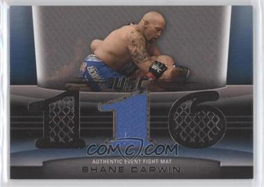 2010 Topps UFC Title Shot Fight Mat Relic Silver #FM-SC - Shane Carwin /88