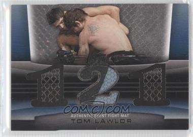 2010 Topps UFC Title Shot Fight Mat Relic Silver #FM-TL - Tom Lawlor /88