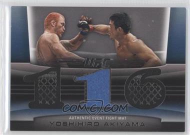 2010 Topps UFC Title Shot Fight Mat Relic Silver #FM-YA - Yoshihiro Akiyama /88